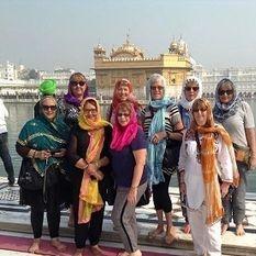 "<img src=""australian womens travel.jpg alt=womens tours,travel group wearing scarves in front of the golden temple , amritsar "">"