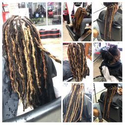 Start Your dreads today with Braids by Bee dread extensions options.