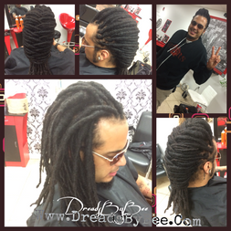 Braids by Bee can dreadlock any type hair