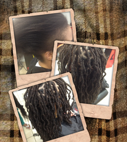 Braids by Bee starts dreads with her instantloc Dread Extensions technique that one it continues to grow out you treat just as normal locs.