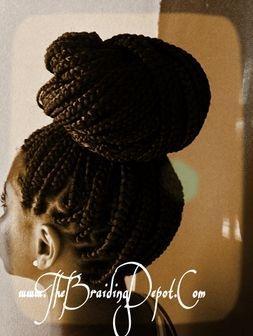 Box braids done by Braids by Bee
