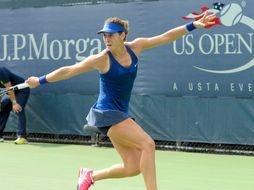 US open tennis with JP Morgan
