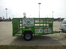 utility trailer rentals Houston
