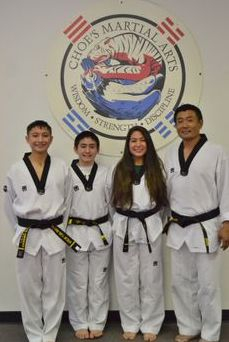 Master Choe and family