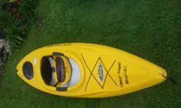 Freedom Kayak, perfect for those who need extra leg room