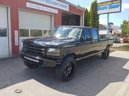 Lowered Ford f-350 custom paint