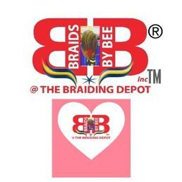 Braids by Bee logo for services rendered at her salon located in Salon