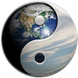 Balance between Yin and Yang.