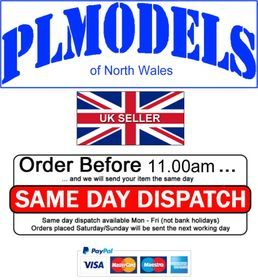Same day despatch if ordered before 11am