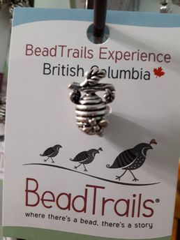 Bead trail, bee hive beads and bracelets