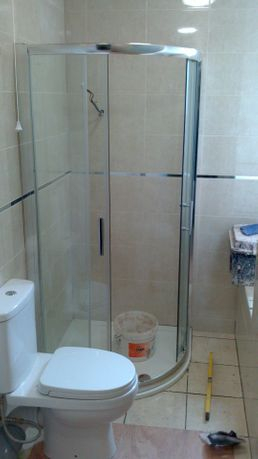 Shower complete, Thermastatic shower
