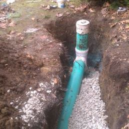 Sewer and Drain Clean-Out Installation
