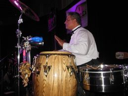 Peter Gonzalez on Percussion