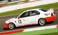 Peter Burchil MGZS V6 MGCC champion Vulcan Racing