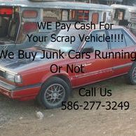 we buy junk cars in Warren mi,Roseville mi,centerline Mi,st clair shores mi,troy mi, harrison twp mi
