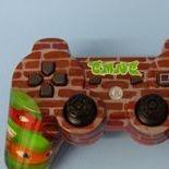 TMNT teenage mutant ninja turtles playstation PS3 controller