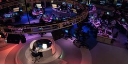 Major TV newsroom in Europe
