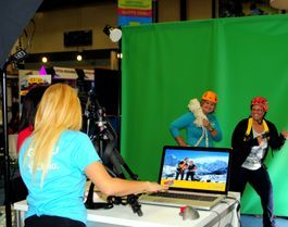 orlando Green screen photo booth