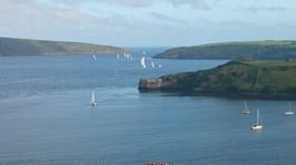 View from Charles Fort Kinsale