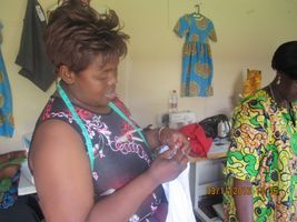 Tailoring course for refugee women