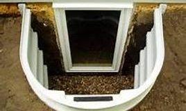 Installed egress window