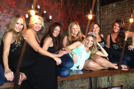 Dawn and her Texas ladies posing for a cute pic