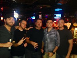 Angelo's bachelor group visited Nashville from New York