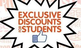 Students Discount is a must