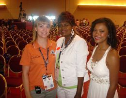 Erin, Andrea and Rahmeka attending the Kidney Summit in Madison, Wisconsin.