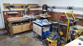 My Workshop showing my tools