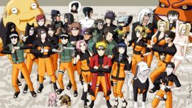 Naruto family photo