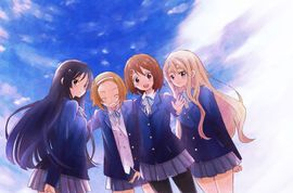 K-on! all girls