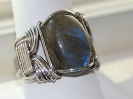 Sterling Silver Wire Wrap Ring
