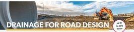 Draining for road design