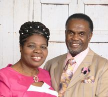 Bishop Dr. Cecil G. Mullings and First Lady Delores Mullings