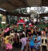 Feeding program in Novaliches