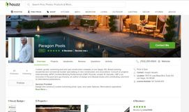 Houzz profile, swimming pool and spa design tips and featured photos.