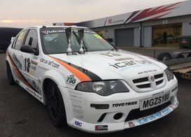 MGZS Silverstone 2018 2nd and 3rd place in MG Cup