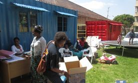 Monthly Food Parcels