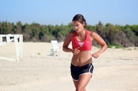 Running with my personal fitness training