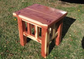Red Cedar End Tables , Coffee Tables  Set of 3 $ 525.00