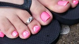 A Spa Pedicure with your choice of polish