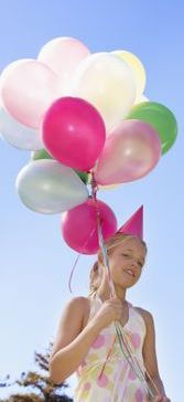 Helium balloons for any occasion