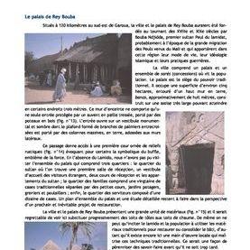 docuent expliquant les patrimoine de l ouest du Cameroun