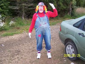 """The """"Clown"""" that put it together!"""