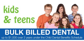 Medicare Bulk Billing Child Dental Benefit Schedule