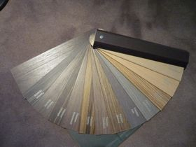 retro colours available for venetian blinds
