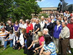 The Reunion 2010 with  retired teachers.