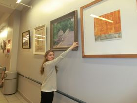 volunteer, we had a wonderful 5 year exhibition at 3 Ryan Chelsea Medical Centers NYC