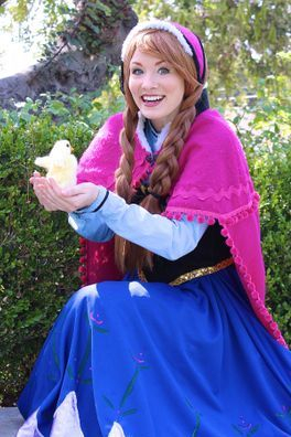 company character duck los angeles anna frozen princess